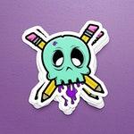 Graphic Designer / Illustrator / Artist Skull Sticker