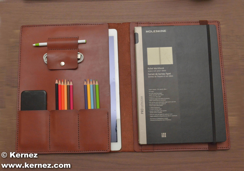 online store 9f823 e32d4 iPad Pro 10.5 inch leather folio case, iPad padfolio, Business portfolio,  iPad pro portfolio case, Office notebook organizer, iPad pro case