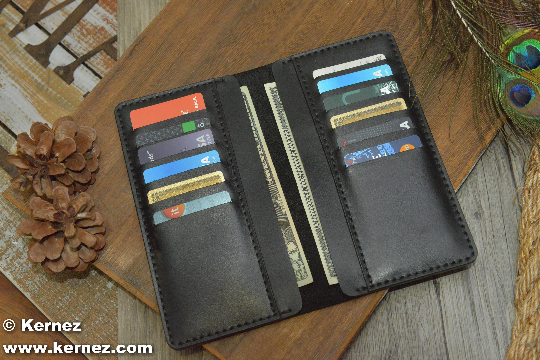 Leather Wallet USA Wallet Mens Wallet BiFold WalletMens  3252278c7ced