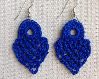 Instant download - Crochet PATTERN (pdf file) – Jewelry - Crochet Earing Design #4/101 Pattern
