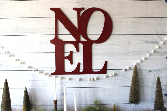 Christmas Mantle decor Noel Wood Sign shabby chic holiday wood decor Noel Holiday Decor Christmas wood Sign Rustic wood Sign