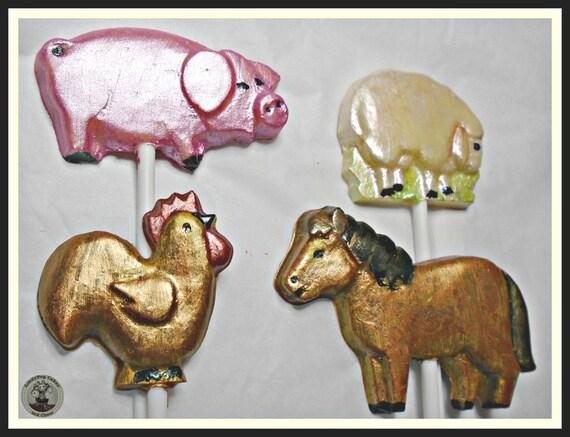 Hase Kuh Essbar Huhn Schwein f/ür Bauernhofkuchen 16 Bauernhoftiere
