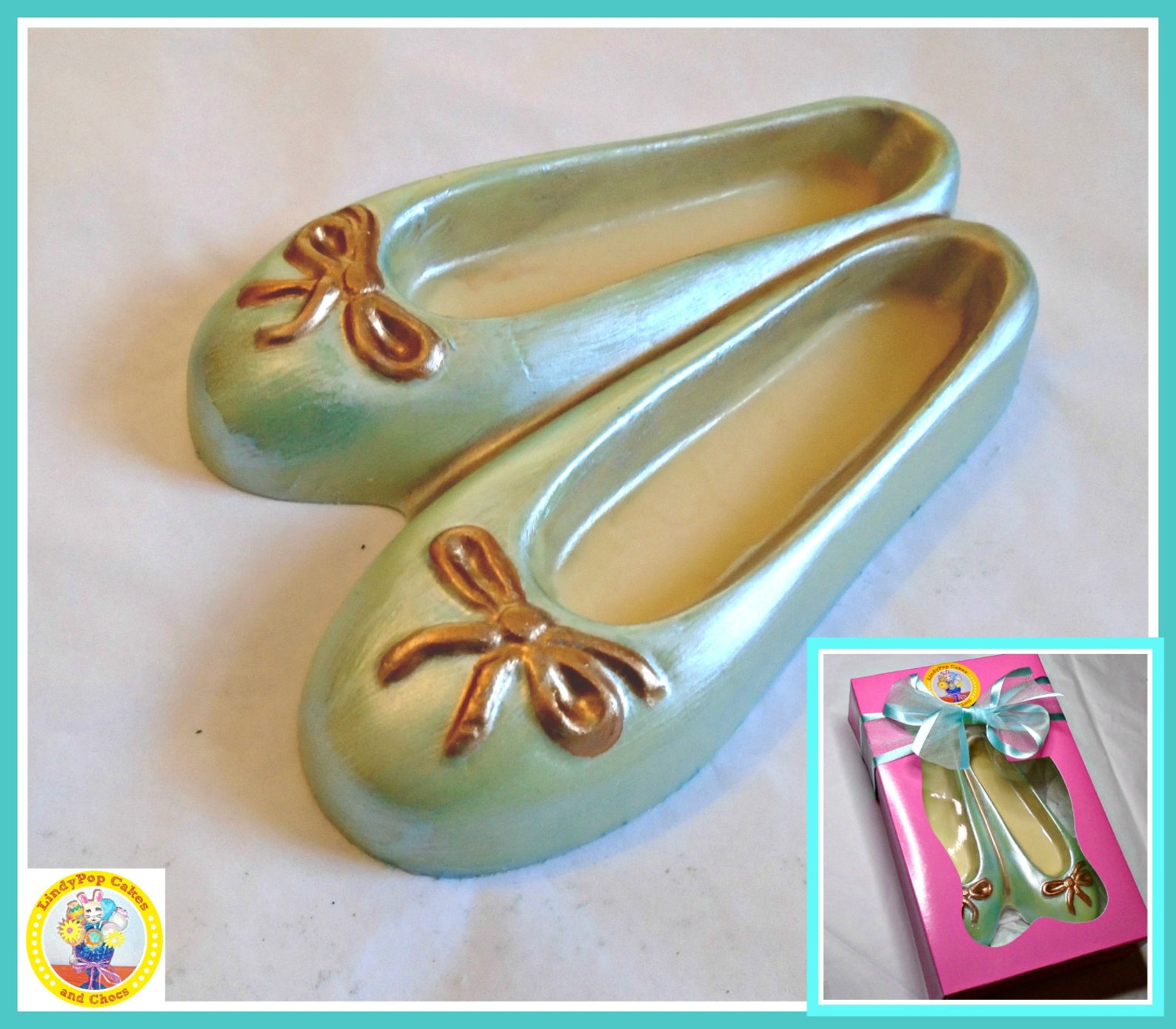 chocolate shoes/ballet pumps/edible shoes/ballet gift/female gift/girls birthday/flat shoes/ballet shoes/sister/mum/edible gift/