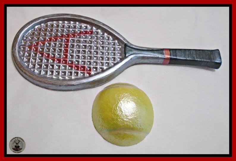 Tennis Gift Chocolade Eetbare Tennis Racket Bal Tennis Etsy