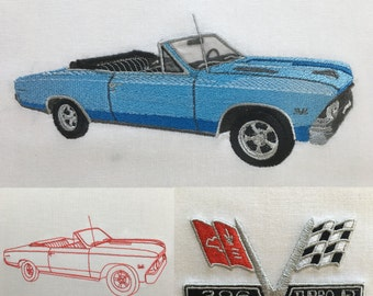 Chevy Quilt Etsy