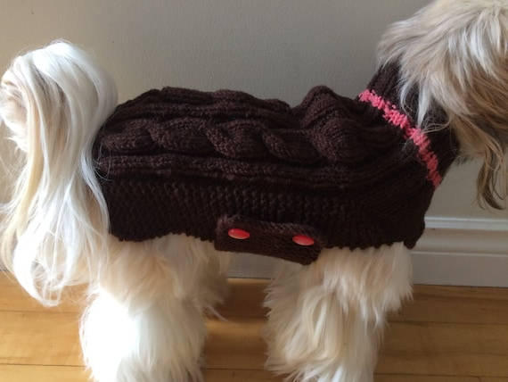 Small Dog Sweater Shih Tzu Sweater Poodle Sweater Dog Sweater Small Dog Coat Knitted Dog Sweater Small Breed Dog Clothes