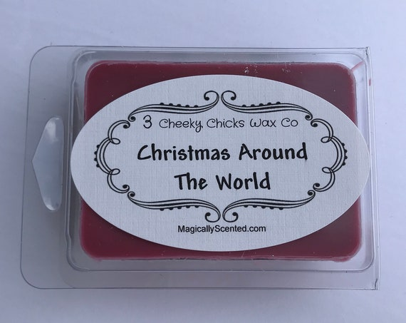 Christmas Around The World Wax Melt, Home Fragrance