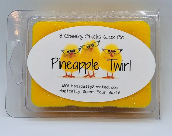 Pineapple Twirl Wax Melts