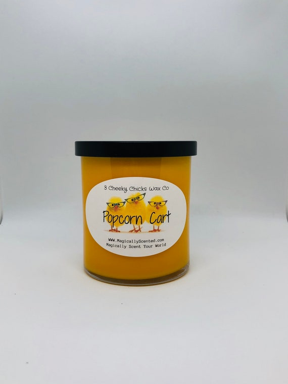 Popcorn Cart Candle