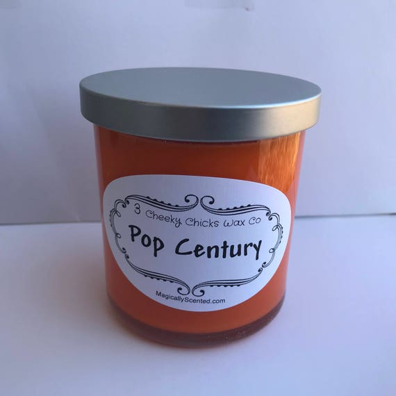 Pop Century Candle, Disney Candle, Lobby Scent, Home Fragrance