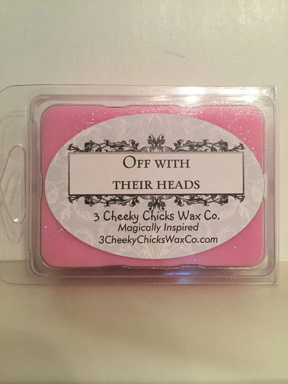 Off With Their Head Wax Melts