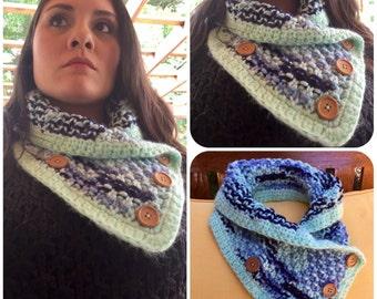 Knit Cowl neck scarf