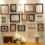 Photo Frame Set, Set of 15 Vintage Photo frame Collection, Creative wall Decoration (RD15 Vintage)