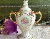 Karl Heinz Klette D Original Germany handle small urn Dresden vase