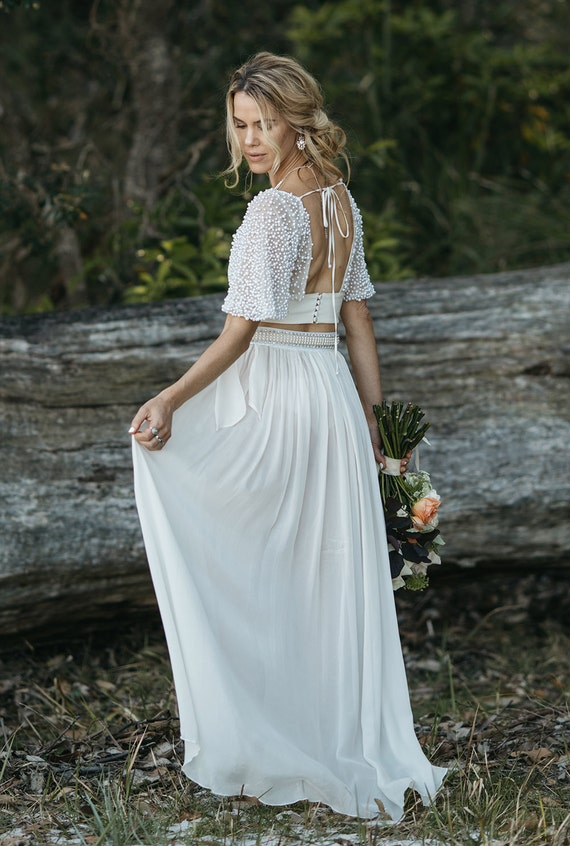 Under Your Spell 2PC wedding gown   Etsy