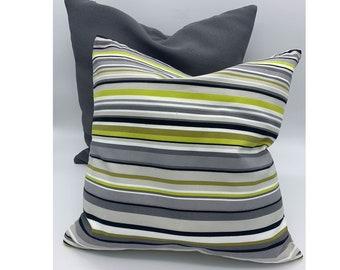 Pillow Cover striped, Minimalist,  Farmhouse, Decorative Cushion, Decorative Throw Pillow Cover 18x18