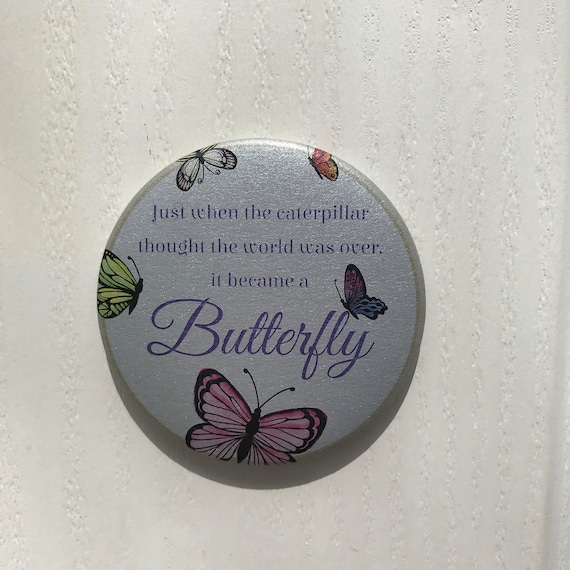 Butterfly Magnet Butterfly Magnet Just When The Etsy