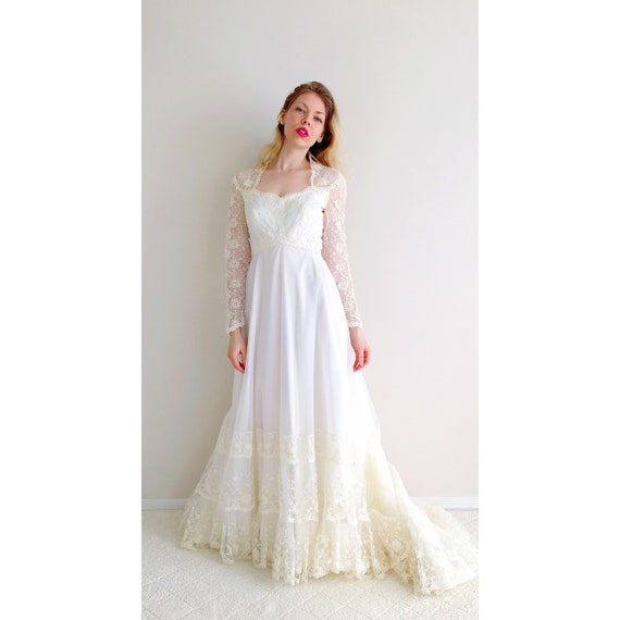 House of Bianchi Size Small Vintage Wedding Dress