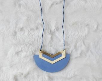 Sky Blue Concrete Necklace, cement necklace, concrete jewelry, cement jewelry, modern necklace, beton, concrete pendant, concrete jewellery