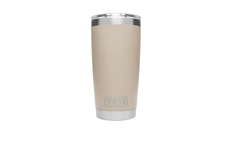 dcbc4337dd6 REAL YETI 20 oz. Laser Engraved Stainless Steel Sand Yeti Rambler  Personalized Vacuum Insulated YETI