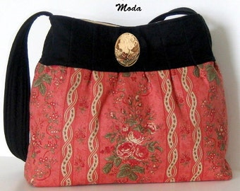 Midnight in Paris PURSE / BAG Handbag KIT - Moda 3 Sisters Fabric