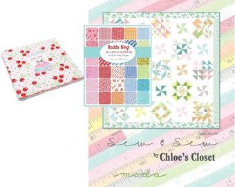 BADDA BING Moda Jelly roll ME /& My Sister Designs bright cheerful fabric 40 2.5 inch strips 22340Jr