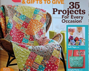 Better Homes & Gardens QUILTS And Gifts to Give Magazine 2017