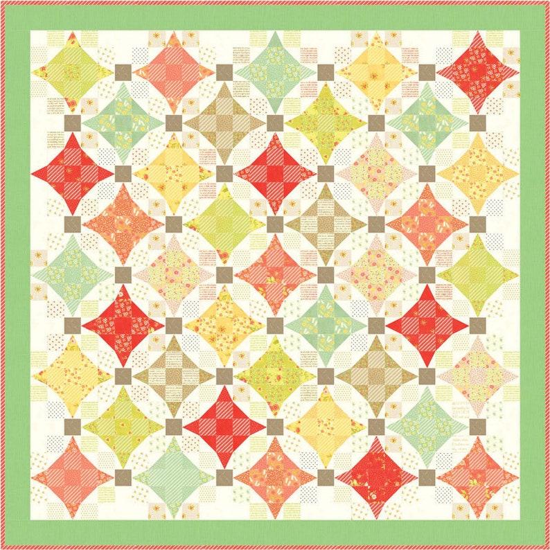 Quilt Pattern Moda Scottie Dog Fabric PUPPY LOVE Quilt Kit