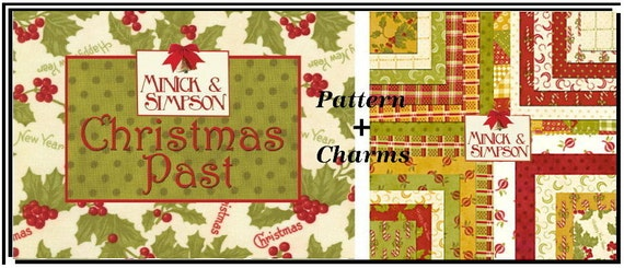 Christmas Past Charm Pack Quilt Pattern Quilt Squares Rare Etsy
