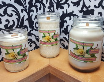 Patchilla (Patchouli-Vanilla) - 100% Soy Wood Wick Candle