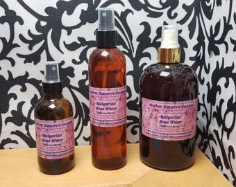 Bulgarian Rose Hydrosol Facial Toner Spray