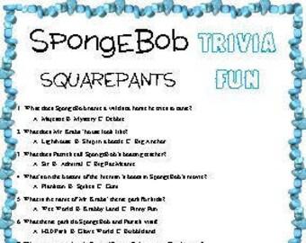 Spongebob friends | Etsy