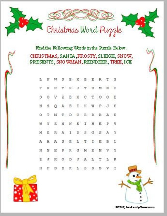 Christmas Trivia Fun, for the entire family, new games added this year