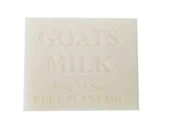 100 x Soap Bars Natural Goats Milk 100g