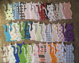 50 x Wooden Patterned Dog Buttons Embellishments Crafts Card Toppers