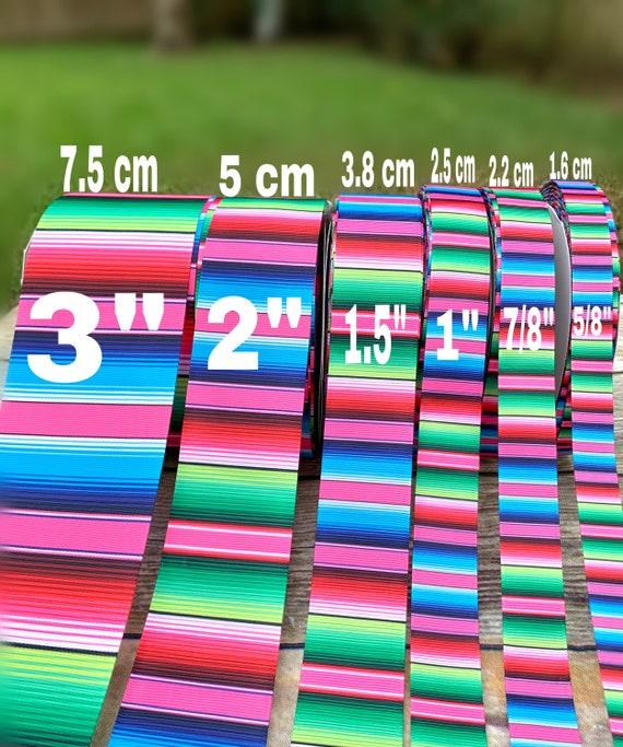Mexico  ribbon. PINK Serape ribbons.5 de mayo grosgrain ribbon .mexican Grosgrain ribbon.fiesta mexican ribbons