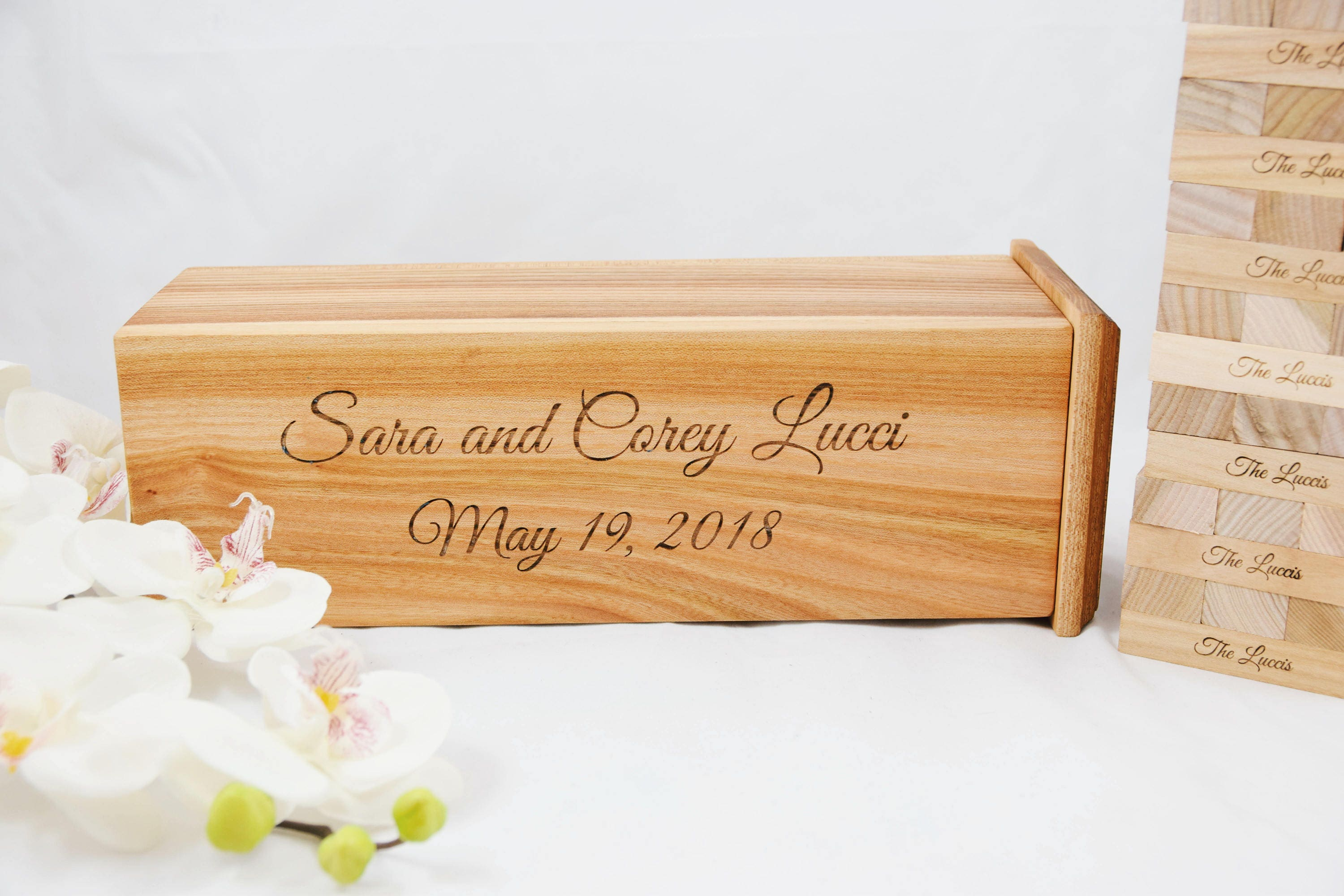 Personalised Wedding Gifts For Guests: Personalized Wedding Gift Guest Book Custom Made Engraved