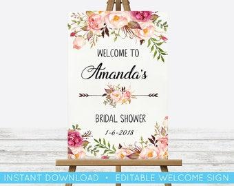 Bridal Shower Print Etsy