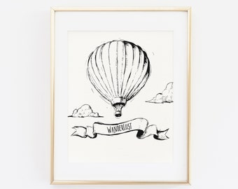 Air Balloon Quotes Etsy