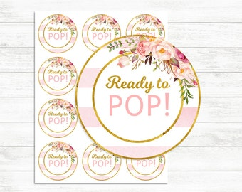 photograph regarding Ready to Pop Printable referred to as Organized in direction of pop printable Etsy