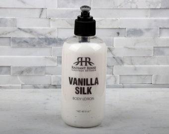 Vanilla Silk Lotion - Moisturizer