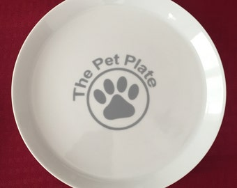 The Pet Plate - Flat Feeding Plate for Finicky Pets