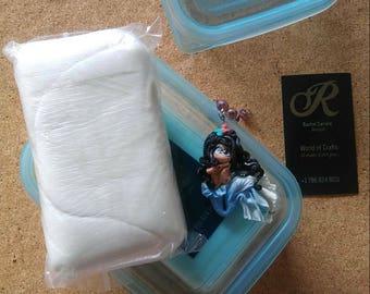 Workshop. How to make cold porcelain. DIY. Soft and Flex. Tutorial. Como preparar Porcelana Fría. Receta garantizadas!