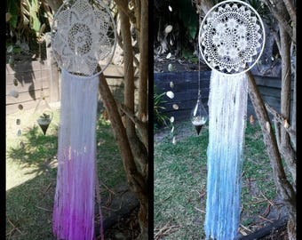 Lace dream catcher, ombre style