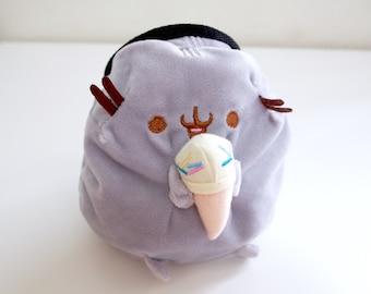 Ice Cream Cat Chalk Bag