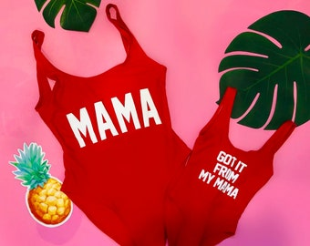 042ae0e4d Mommy and me swimsuit | Etsy