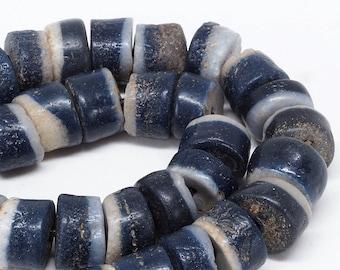 5 X Afrika Recyled glas krobo dogon beads handbemalt