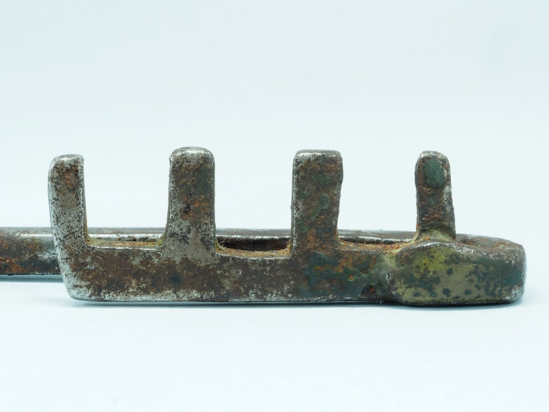 Morocco Berber Antique forged iron key