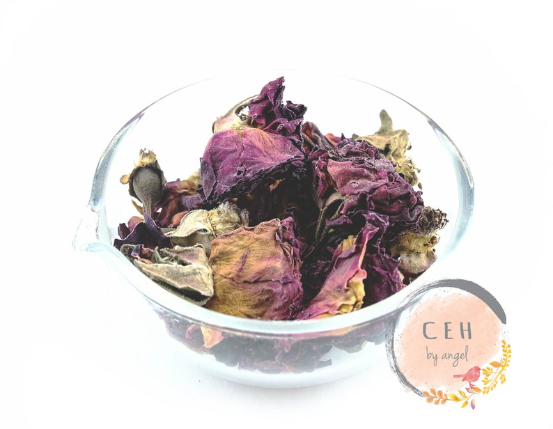 Dry Rose Bud Petals Skincare Diy Personal Care Formulation Bath Salt Soap Mask Bath & Body