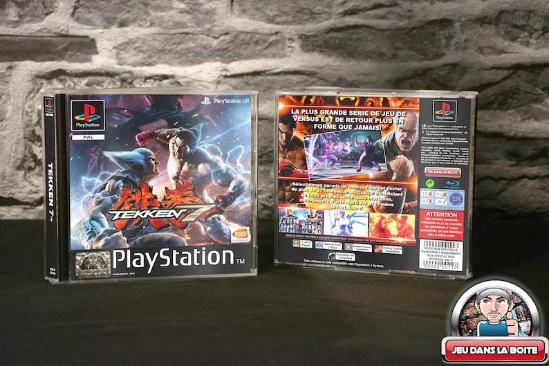 da21a1fa2 Tekken 7 box Playstation 1 game Playstation 4 NO GAME